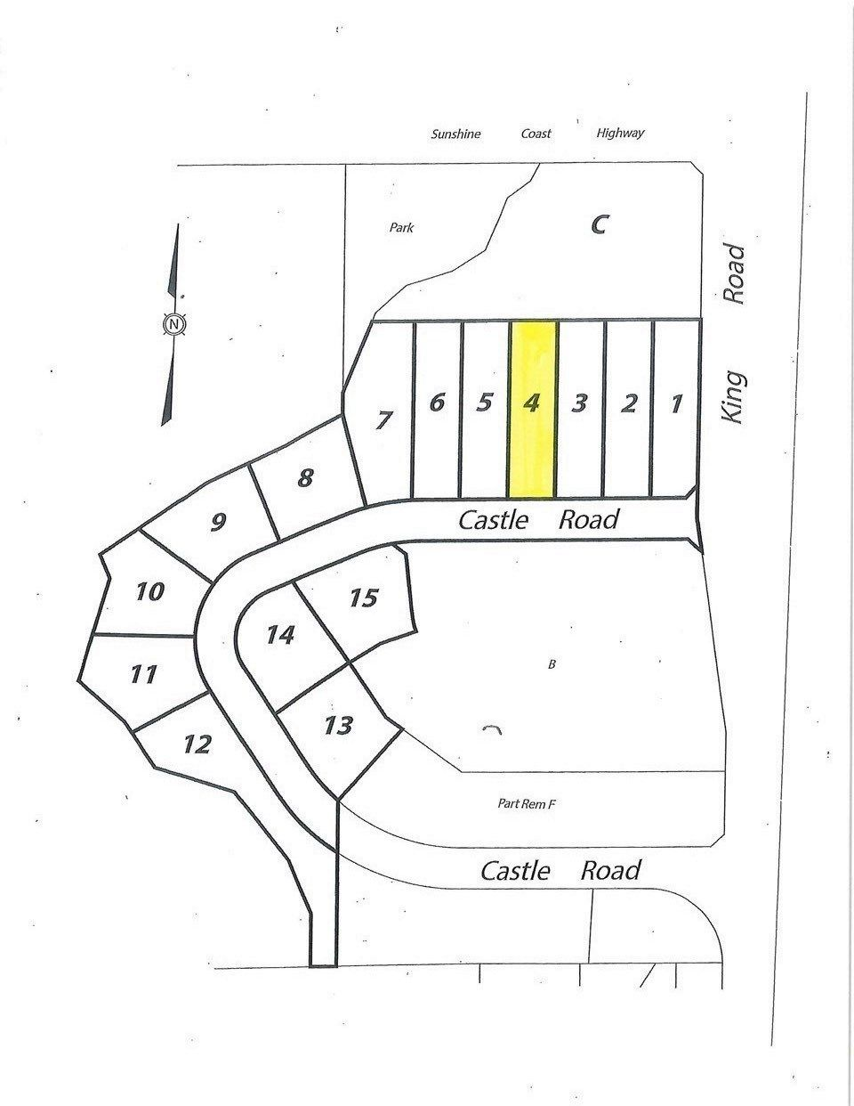 "Main Photo: LOT 4 CASTLE Road in Gibsons: Gibsons & Area Land for sale in ""KING & CASTLE"" (Sunshine Coast)  : MLS®# R2422354"