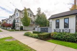 "Photo 1: 11 14888 62 Avenue in Surrey: Sullivan Station Townhouse for sale in ""ETON"" : MLS®# R2623576"
