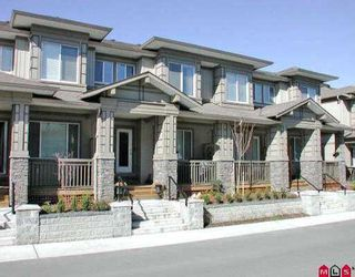 "Photo 1: 56 18701 66TH AV in Surrey: Cloverdale BC Townhouse for sale in ""Encore at Hillcrest"" (Cloverdale)  : MLS®# F2606179"