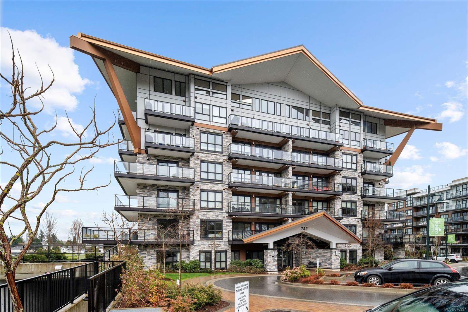 Main Photo: 410 747 Travino Lane in : SW Royal Oak Condo for sale (Saanich West)  : MLS®# 876997