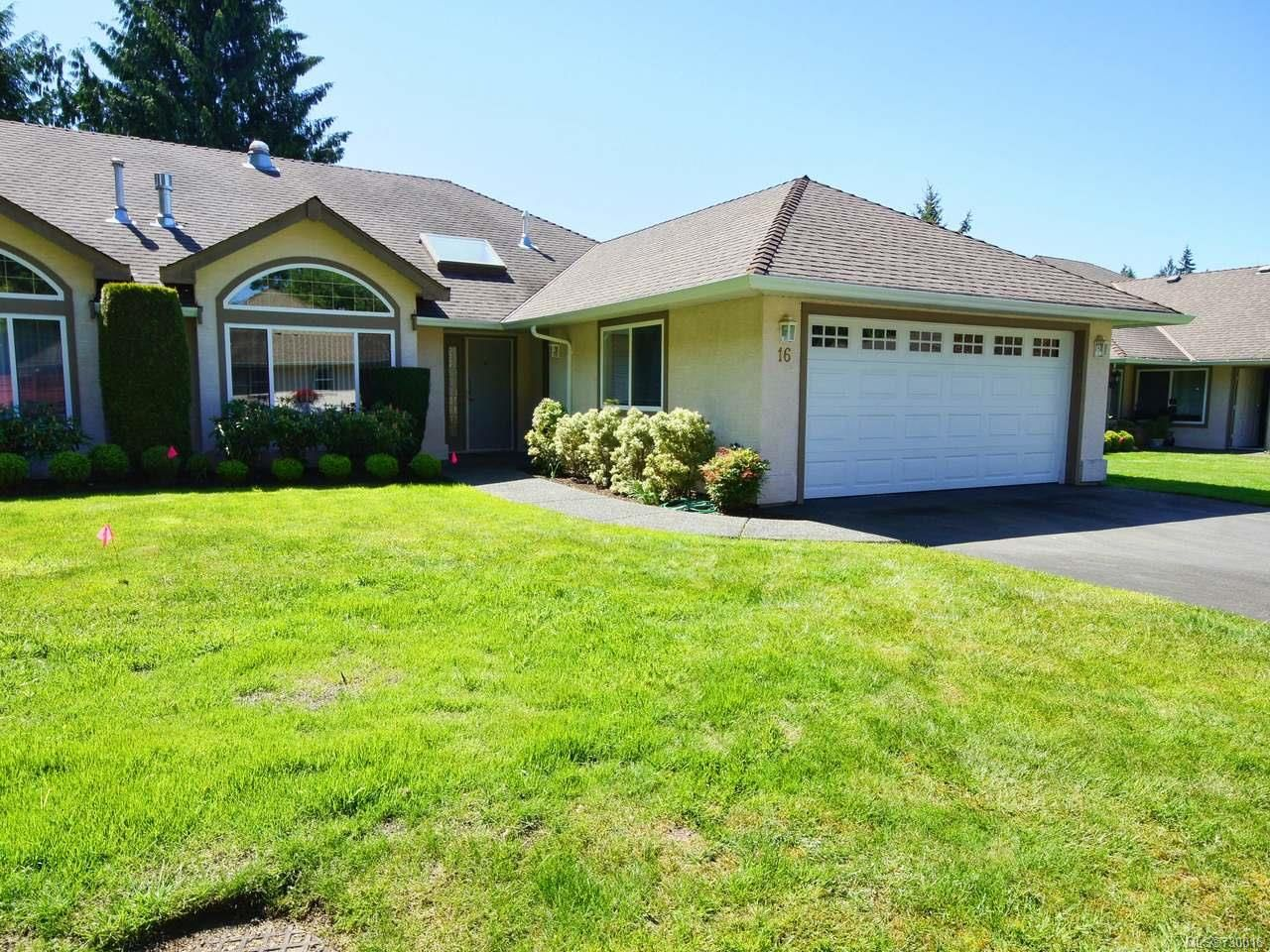 Main Photo: 16 850 ARBUTUS STREET in QUALICUM BEACH: PQ Qualicum Beach Row/Townhouse for sale (Parksville/Qualicum)  : MLS®# 730016