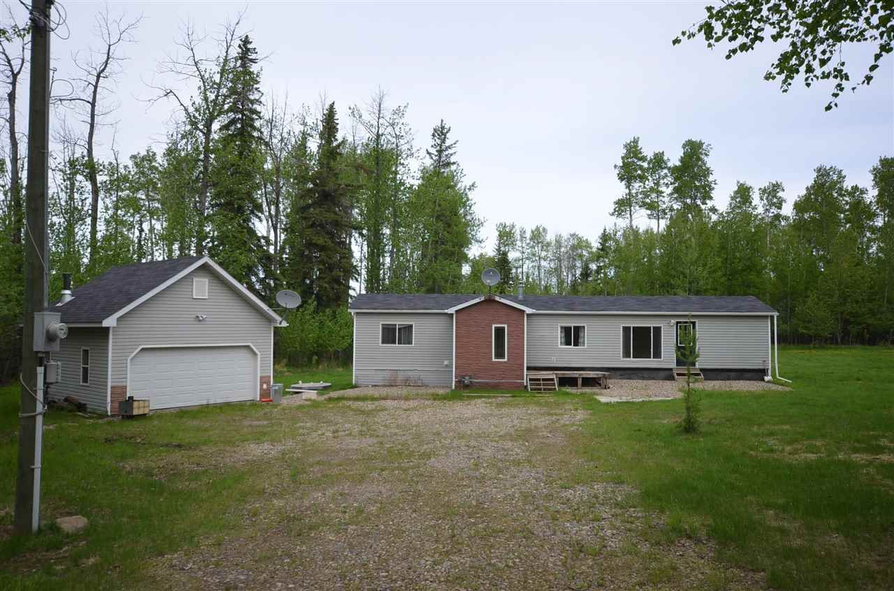 """Main Photo: 14438 RED CREEK Road in Fort St. John: Fort St. John - Rural W 100th Manufactured Home for sale in """"RED CREEK"""" (Fort St. John (Zone 60))  : MLS®# R2587733"""