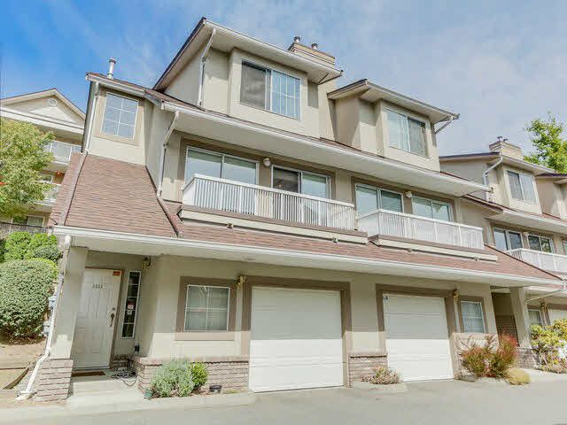 Main Photo: 3433 AMBERLY PLACE in Vancouver: Champlain Heights Townhouse for sale (Vancouver East)  : MLS®# V1141286