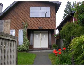 Photo 1: 1636 DEMPSEY Road in North_Vancouver: Lynn Valley House for sale (North Vancouver)  : MLS®# V717776
