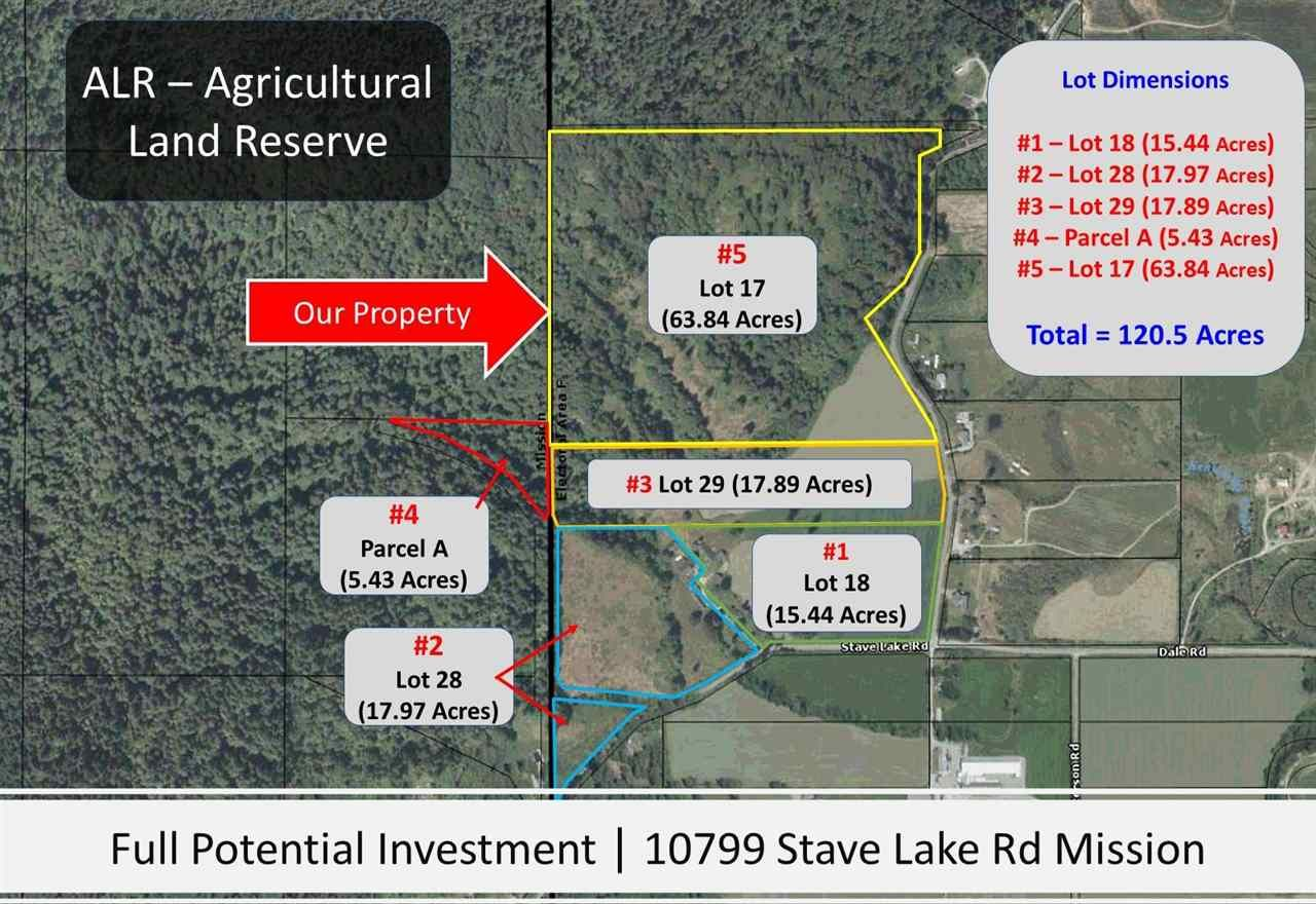 Main Photo: LOT 17 10799 STAVE LAKE Road in Mission: Durieu Land for sale : MLS®# R2583573