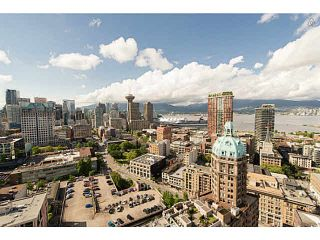 Photo 1: 3101 183 KEEFER Place in Vancouver: Downtown VW Condo for sale (Vancouver West)  : MLS®# V1118531