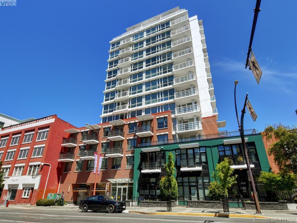 Main Photo: 906 834 Johnson St in VICTORIA: Vi Downtown Condo for sale (Victoria)  : MLS®# 816354