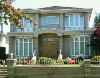 """Photo 1: 6638 FREMLIN ST in Vancouver: South Cambie House for sale in """"SOUTH CAMBIE"""" (Vancouver West)  : MLS®# V592223"""