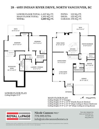 """Photo 40: 28 4055 INDIAN RIVER Drive in North Vancouver: Indian River Townhouse for sale in """"Winchester"""" : MLS®# R2540912"""