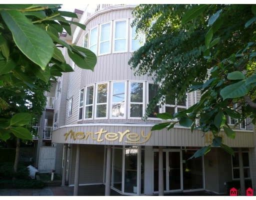 """Main Photo: # 306 1588 BEST ST: White Rock Condo for sale in """"The Monterey"""" (South Surrey White Rock)  : MLS®# F1005930"""