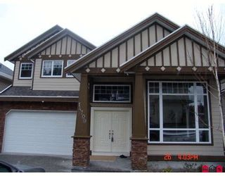 Photo 1: 14709 62ND Avenue in Surrey: Sullivan Station House for sale : MLS®# F2801625
