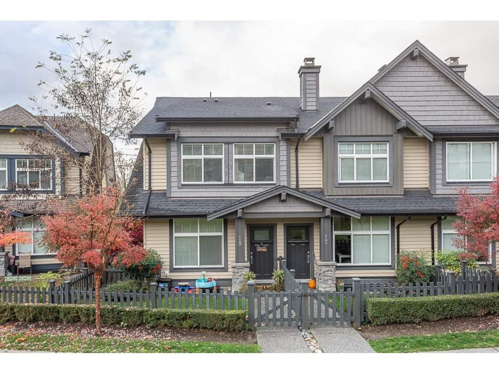 Main Photo: 18 13819 232 STREET in : Silver Valley Townhouse for sale : MLS®# R2320586