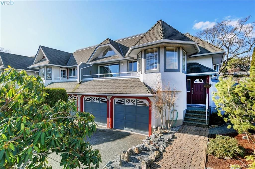 Main Photo: 1 1356 Slater St in VICTORIA: Vi Mayfair Row/Townhouse for sale (Victoria)  : MLS®# 806611