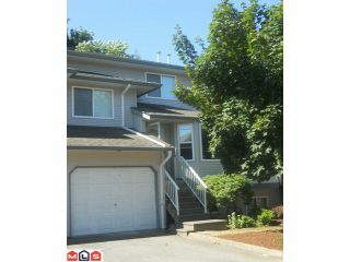 """Photo 1: 19 34332 MACLURE Road in Abbotsford: Central Abbotsford Townhouse for sale in """"IMMEL RIDGE"""" : MLS®# F1220836"""
