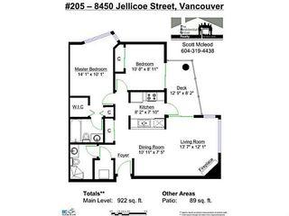 "Photo 16: 205 8450 JELLICOE Street in Vancouver: Fraserview VE Condo for sale in ""THE BOARDWALK"" (Vancouver East)  : MLS®# V1087138"