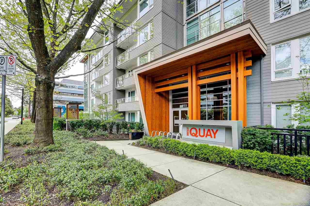 """Main Photo: 306 255 W 1ST Street in North Vancouver: Lower Lonsdale Condo for sale in """"WEST QUAY"""" : MLS®# R2469889"""