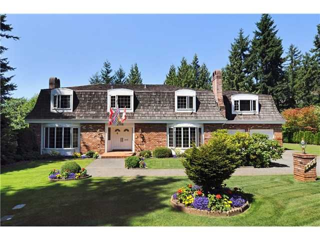 Main Photo: 5708 WESTPORT Road in West Vancouver: Eagle Harbour House for sale : MLS®# V863002