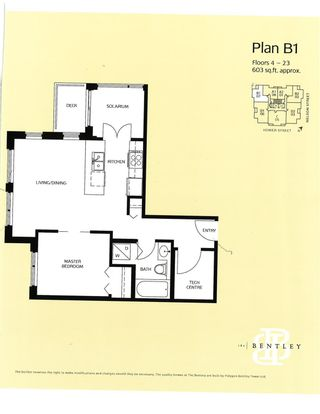 """Photo 4: 407 1001 HOMER Street in Vancouver: Yaletown Condo for sale in """"THE BENTLEY"""" (Vancouver West)  : MLS®# R2608317"""