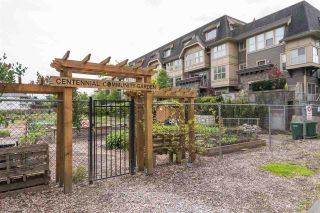 "Photo 3: 104 2110 ROWLAND Street in Port Coquitlam: Central Pt Coquitlam Townhouse for sale in ""AVIVA ON THE PARK"" : MLS®# R2168071"