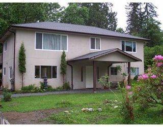 Main Photo: 27236 BELL AV in Maple Ridge: Whonnock House for sale : MLS®# V564179