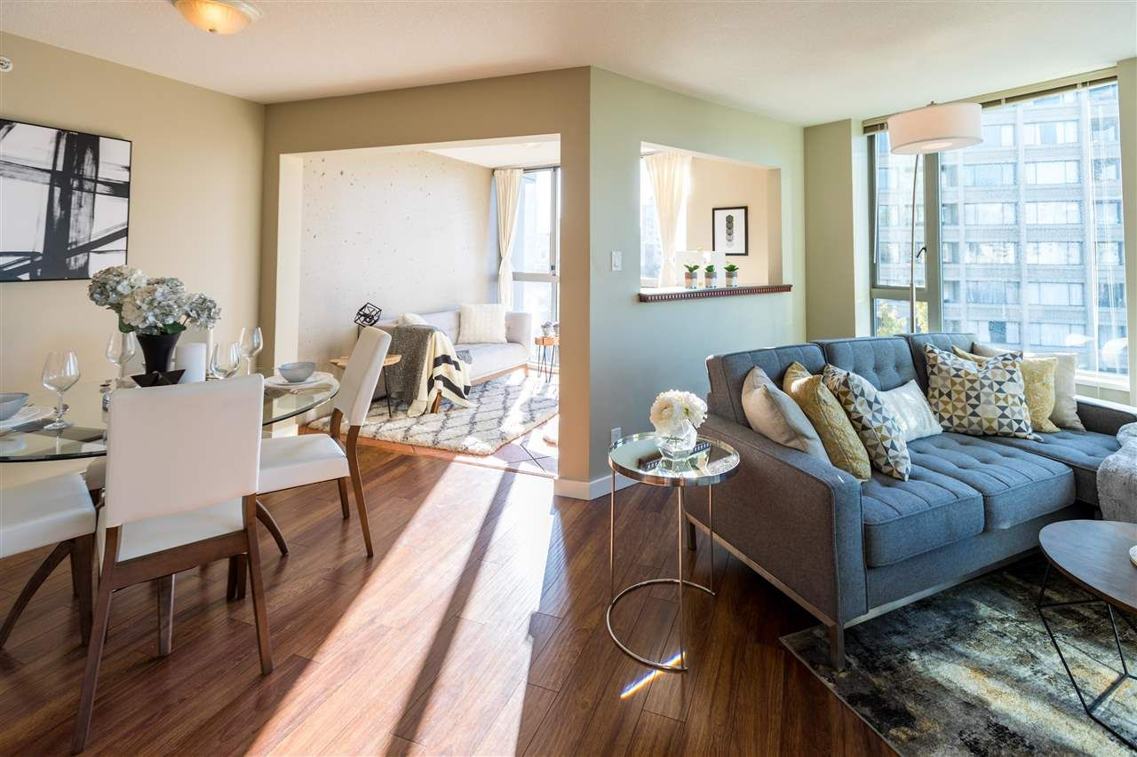 Main Photo: 706 1277 NELSON STREET in Vancouver: West End VW Condo for sale (Vancouver West)  : MLS®# R2219834
