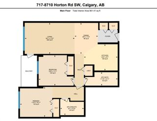 Photo 24: 717 8710 HORTON Road SW in Calgary: Haysboro Apartment for sale : MLS®# A1097461