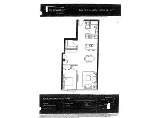 """Photo 2: 505 233 ROBSON Street in Vancouver: Downtown VW Condo for sale in """"TV TOWERS"""" (Vancouver West)  : MLS®# V854549"""