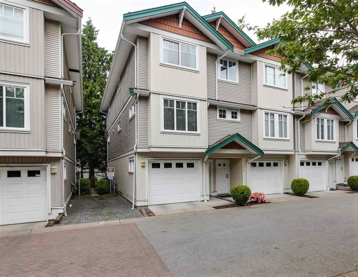 "Main Photo: 120 12711 64 Avenue in Surrey: West Newton Townhouse for sale in ""PALETTE ON THE PARK"" : MLS®# R2270457"