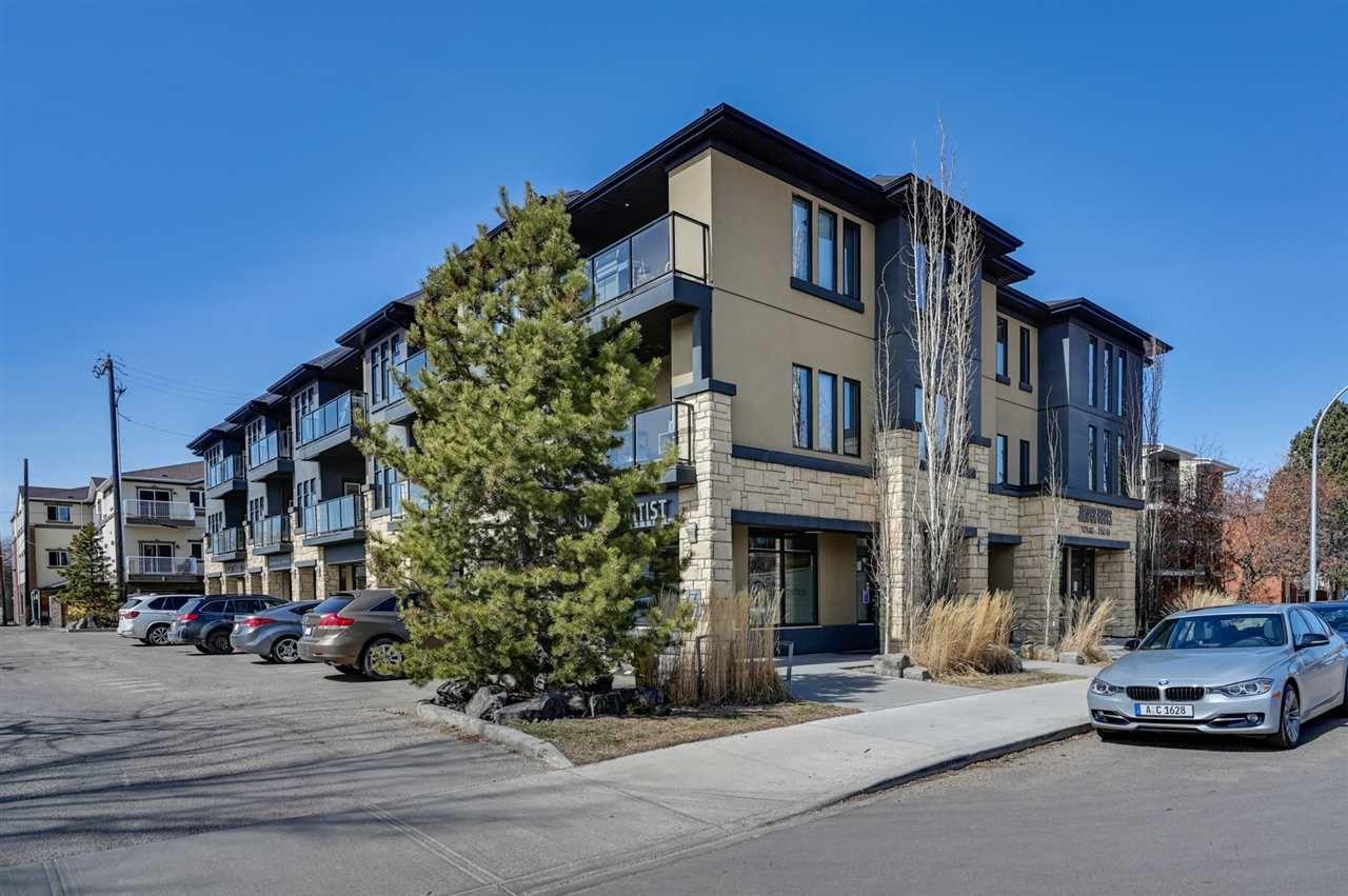Main Photo: 202 10140 150 Street in Edmonton: Zone 21 Condo for sale : MLS®# E4238755