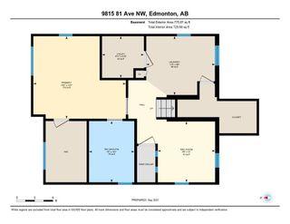 Photo 49: 9815 81 Avenue in Edmonton: Zone 17 House for sale : MLS®# E4262236