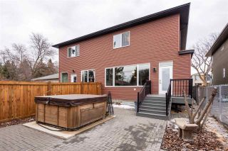 Photo 39: 9508 70 Avenue in Edmonton: Zone 17 House Half Duplex for sale : MLS®# E4236886
