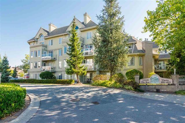 Main Photo: 313 12125 75A Avenue in Surrey: West Newton Condo for sale : MLS®# R2333663