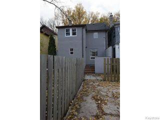 Photo 20: 757 Ashburn Street in WINNIPEG: West End / Wolseley Residential for sale (West Winnipeg)  : MLS®# 1527184