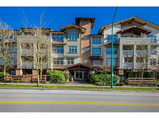 """Photo 1: 408 6500 194 Street in Surrey: Clayton Condo for sale in """"Sunset Grove"""" (Cloverdale)  : MLS®# R2535664"""