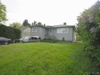 Photo 1: 3329 Shelbourne St in VICTORIA: SE Mt Tolmie House for sale (Saanich East)  : MLS®# 641146