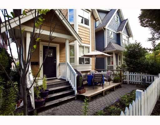 Main Photo: 889 PRIOR Street in Vancouver: Mount Pleasant VE 1/2 Duplex for sale (Vancouver East)  : MLS®# V812016