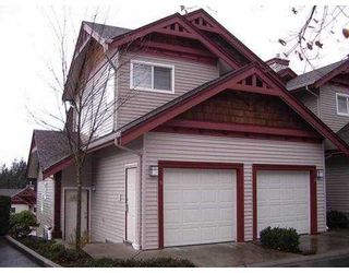 """Photo 1: 9 15 FOREST PARK Way in Port Moody: Heritage Woods PM Townhouse for sale in """"Discovery Ridge"""" : MLS®# V786202"""