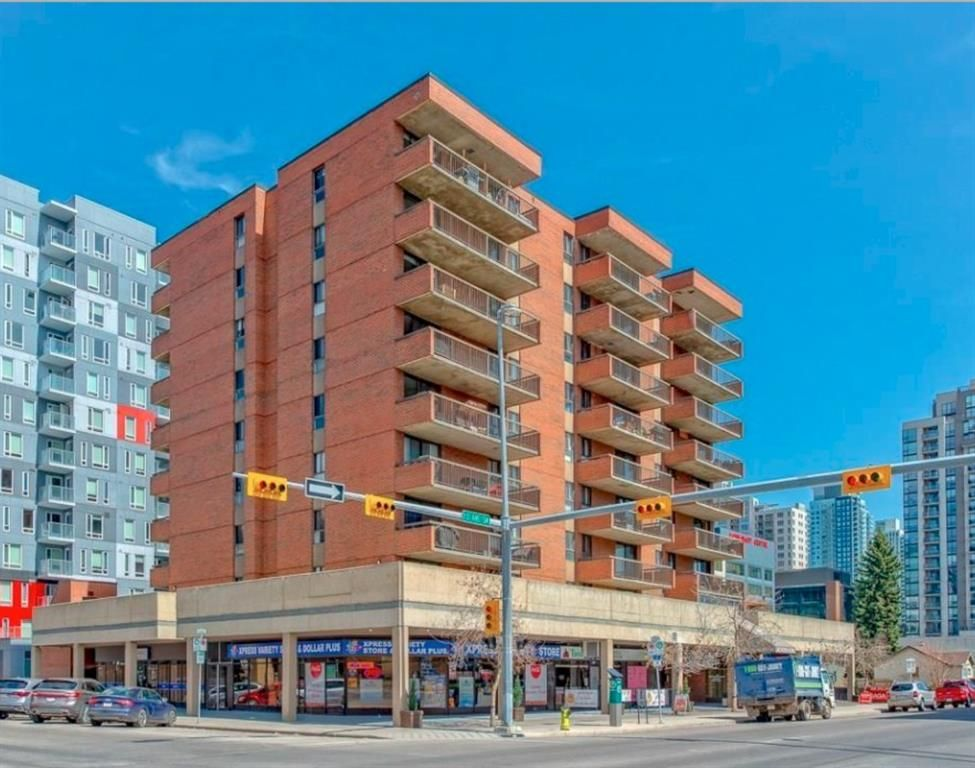 Main Photo: 203 1240 12 Avenue SW in Calgary: Beltline Apartment for sale : MLS®# A1037348