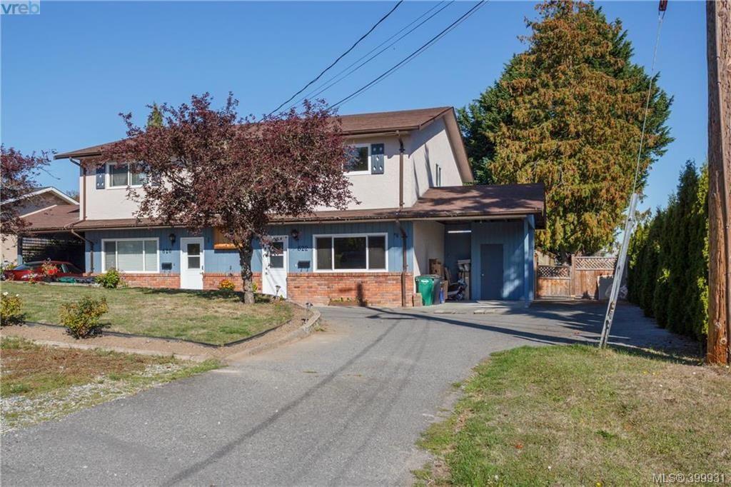 Main Photo: 622 Broadway St in VICTORIA: SW Glanford Half Duplex for sale (Saanich West)  : MLS®# 797925