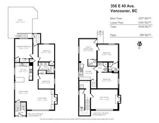Photo 18: 356 E 40TH AVENUE in Vancouver: Main House for sale (Vancouver East)  : MLS®# R2589860