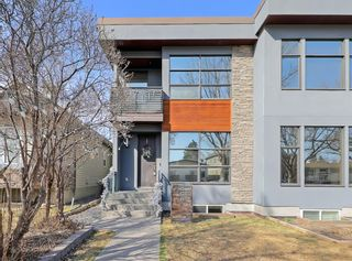 Photo 1: 466 21 Avenue NW in Calgary: Mount Pleasant Semi Detached for sale : MLS®# A1092509