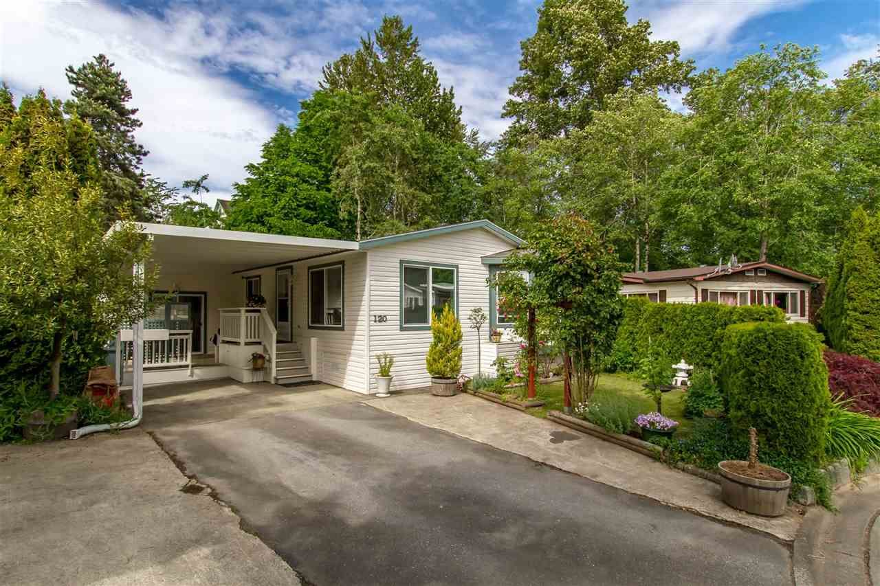 """Main Photo: 120 145 KING EDWARD Street in Coquitlam: Maillardville Manufactured Home for sale in """"MILL CREEK VILLAGE"""" : MLS®# R2370266"""