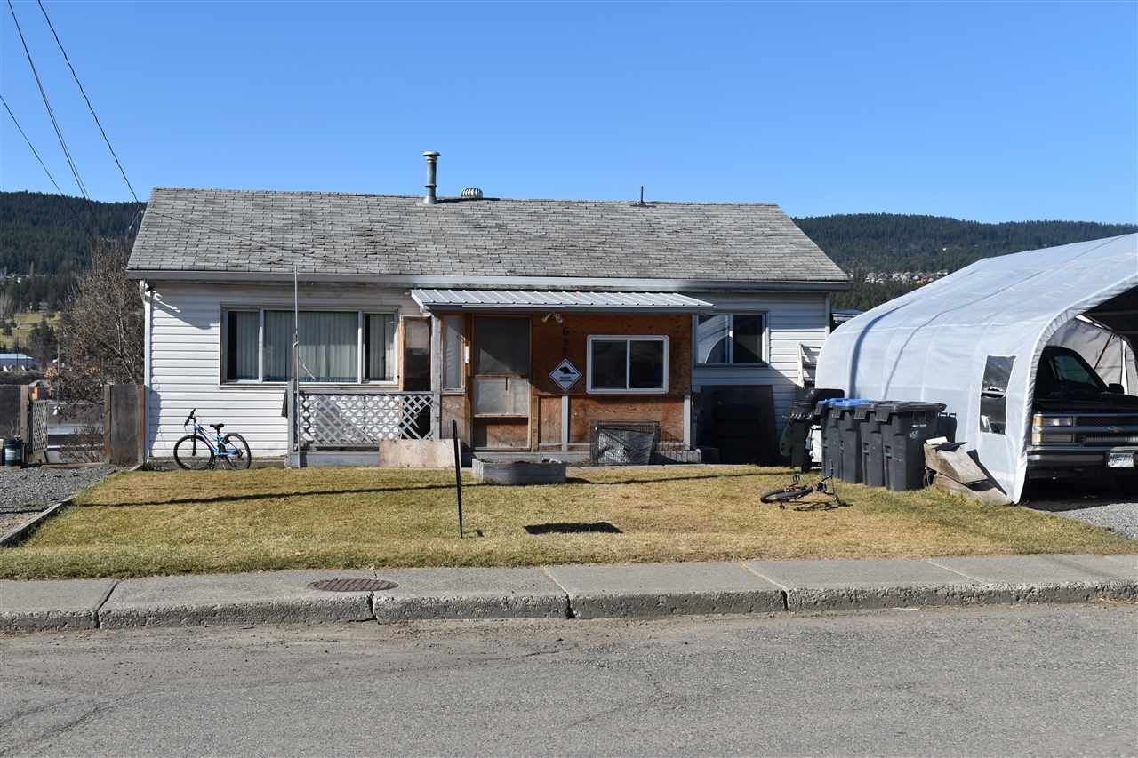 Main Photo: 657 PINCHBECK Street in Williams Lake: Williams Lake - City House for sale (Williams Lake (Zone 27))  : MLS®# R2561911