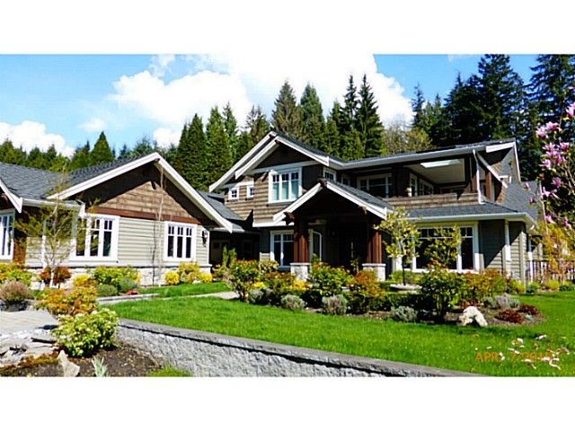 Main Photo: 521 HADDEN DR in West Vancouver: British Properties House for sale : MLS®# V1115173