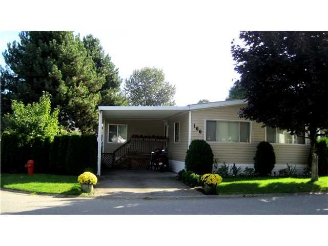 """Main Photo: 166 145 KING EDWARD Street in Coquitlam: Maillardville Manufactured Home for sale in """"MILL CREEK VILLAGE"""" : MLS®# V955109"""
