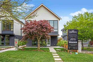 """Main Photo: 2555 E 40TH Avenue in Vancouver: Fraserview VE Townhouse for sale in """"East Fortieth"""" (Vancouver East)  : MLS®# R2563127"""