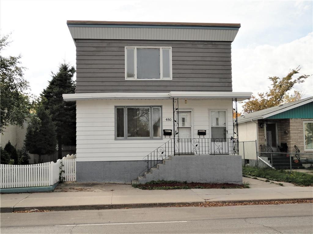 Main Photo: 486 Mountain Avenue in Winnipeg: North End Residential for sale (4C)  : MLS®# 202123629