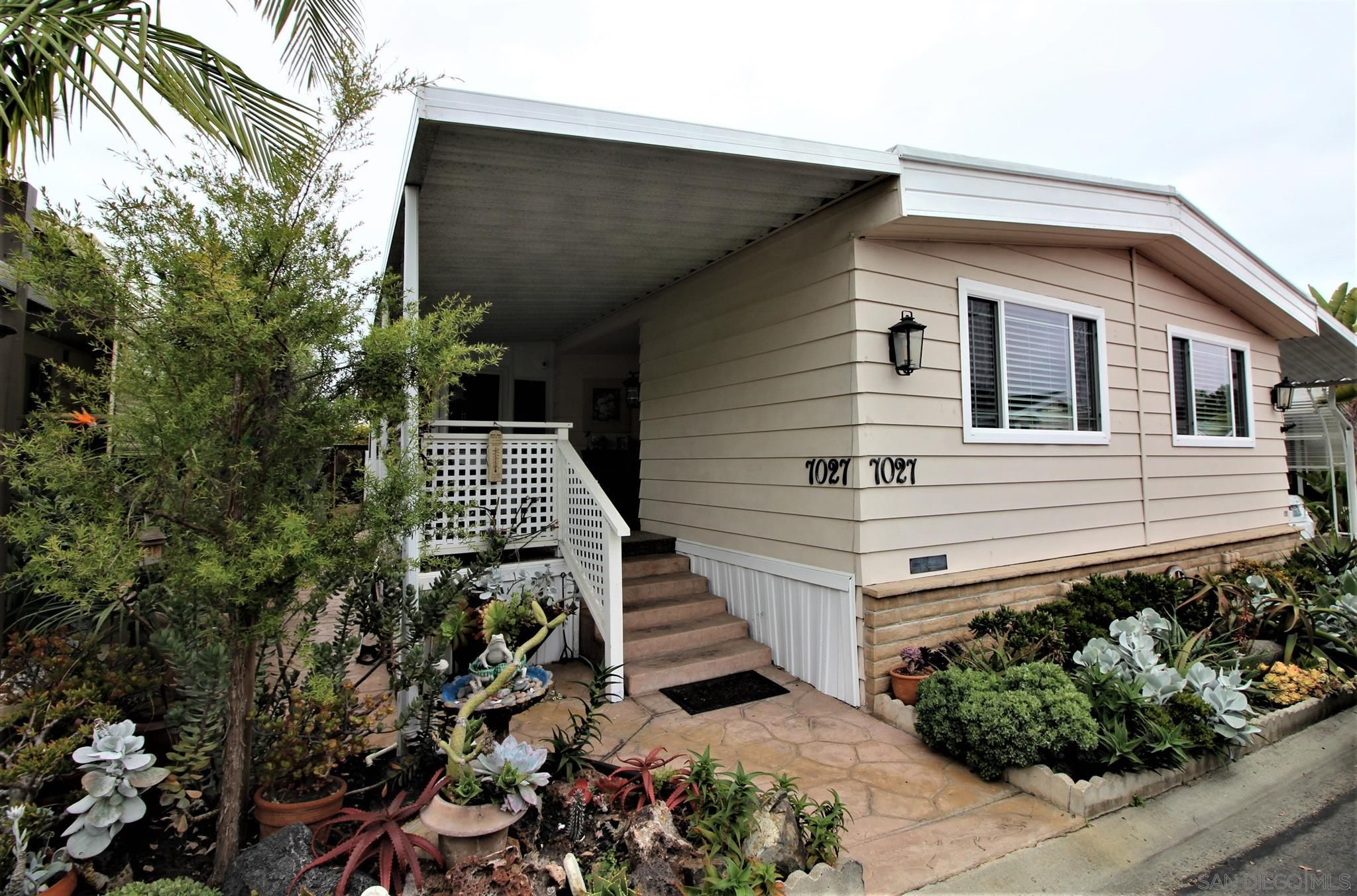 Main Photo: CARLSBAD WEST Manufactured Home for sale : 2 bedrooms : 7027 San Bartolo St #43 in Carlsbad