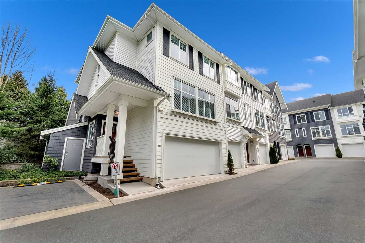 """Main Photo: 10 2550 156TH Street in Surrey: King George Corridor Townhouse for sale in """"Paxton"""" (South Surrey White Rock)  : MLS®# R2546050"""