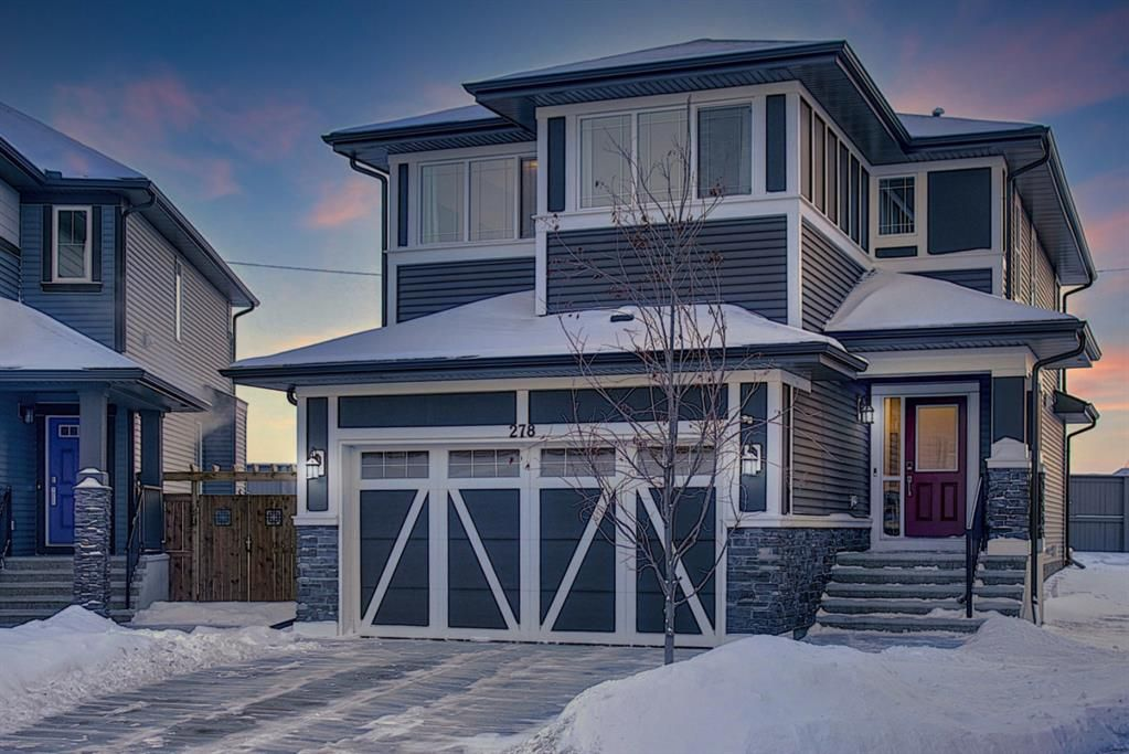 Main Photo: 278 Kingfisher Crescent SE: Airdrie Detached for sale : MLS®# A1068336